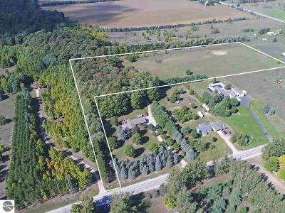 Grand Traverse County Residential Lots & Land New: 9 Acres Tilton Road