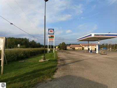 Au Gres Commercial For Sale: 3660 E Huron