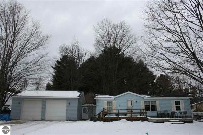 Elk Rapids MI Single Family Home For Sale: $244,900