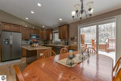 Leelanau County Single Family Home For Sale: 7420 E Meadows Drive