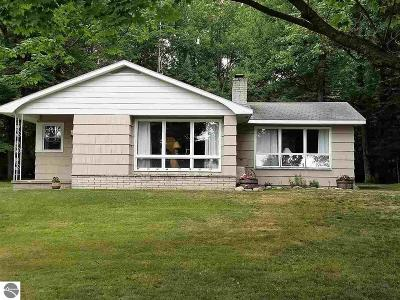 Tawas City MI Single Family Home Active U/C Taking Backups: $127,000
