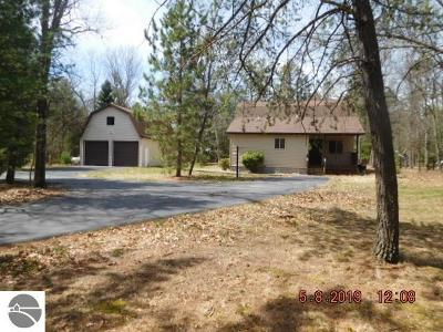 Oscoda Single Family Home For Sale: 6051 Camp Road