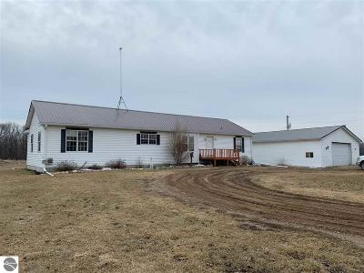 Single Family Home For Sale: 8400 E Lake Montcalm Road