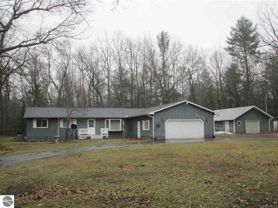 Oscoda Single Family Home For Sale: 4166 Gagnon Trail