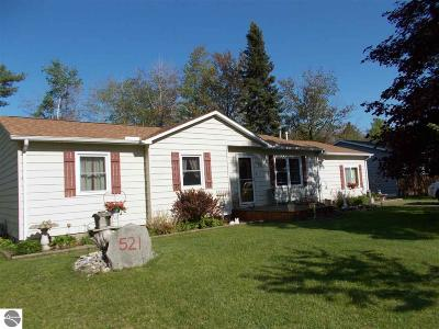 Tawas City MI Single Family Home For Sale: $145,900