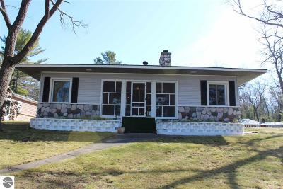 Oscoda Single Family Home For Sale: 7327 Loud Drive