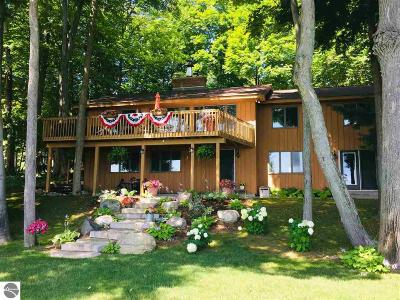 Single Family Home For Sale: 3857 East Shore Drive