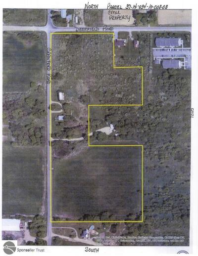 Mt Pleasant Residential Lots & Land For Sale: 5175 S Crawford Road