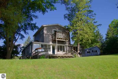 Traverse City Single Family Home For Sale: 1472 N West Silver Lake Road