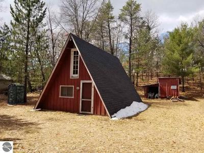 Kalkaska County Single Family Home For Sale: 10700 Naples