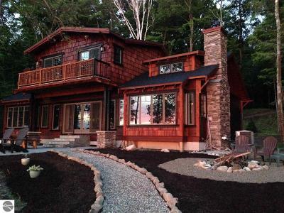 Kewadin Single Family Home For Sale: 11720 Easy Street