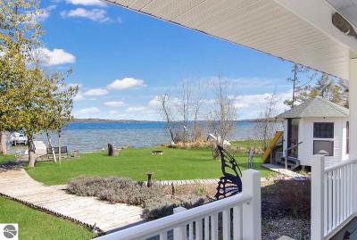 Leelanau County Single Family Home For Sale: 6895 E Birch Point Road
