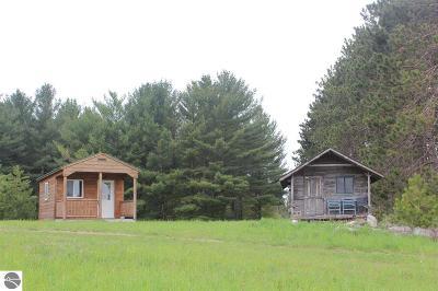 Kalkaska County Single Family Home New: May Road
