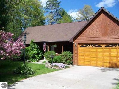 Oscoda Single Family Home For Sale: 7056 Cedar Lake Road