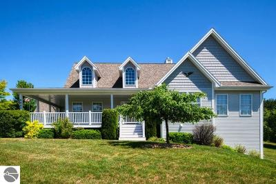 Traverse City Single Family Home New: 9802 Loons Call