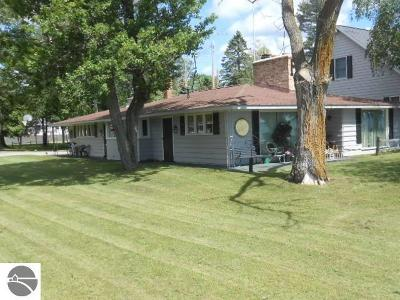 Tawas City Single Family Home For Sale: 1121 N Bay Drive