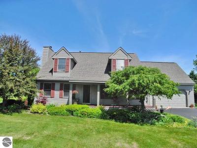 Grand Traverse County Single Family Home New: 6110 Dover Lane