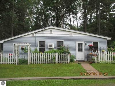 Tawas City MI Single Family Home For Sale: $109,900