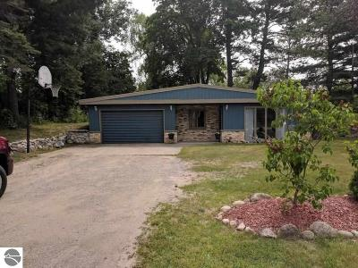Traverse City Single Family Home New: 3034 N 3 Mile Road