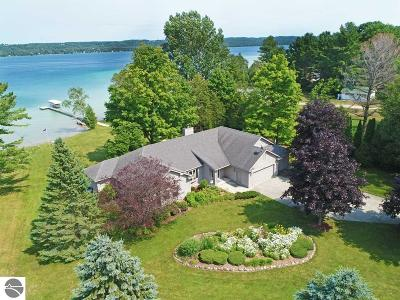 Kewadin MI Single Family Home New: $1,250,000