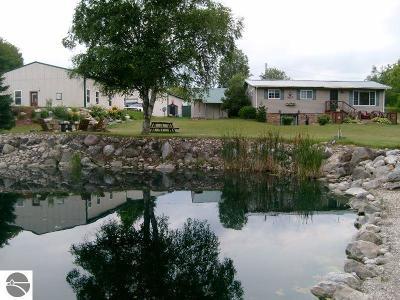Kalkaska County Single Family Home New: 6938 S Snyder Road, SW