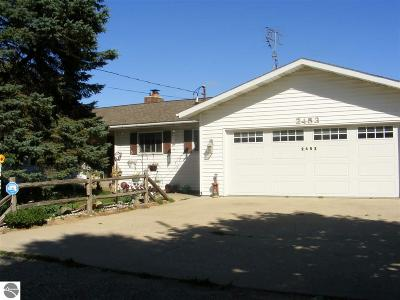 Mt Pleasant Single Family Home Price Change: 2453 S Coldwater Road