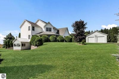 Leelanau County Single Family Home For Sale: 3993 W Gilbert Farm Lane