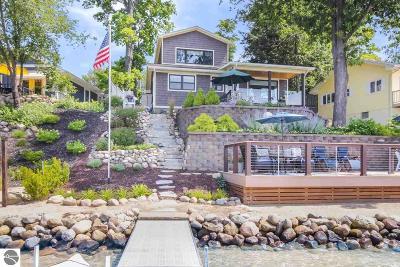 Traverse City Single Family Home Price Change: 414 Brakel Point Drive