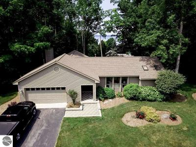 Traverse City Single Family Home For Sale: 10879 Wood View Terrace