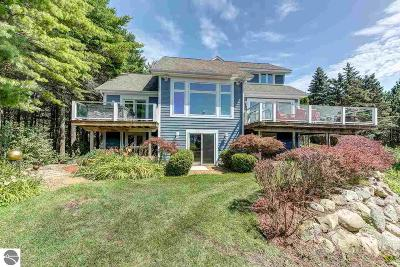 Leelanau County Single Family Home For Sale: 7395 Lakeview Hills Road