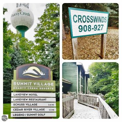 Antrim County Condo For Sale: 5666 Shanty Creek Road #925 Use