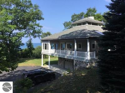 Leelanau County Single Family Home For Sale: 921 S Manitou Trail