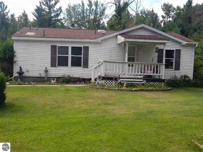 Tawas City MI Single Family Home For Sale: $128,500