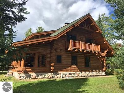 Kalkaska County Single Family Home For Sale: 5985 Riverview Road