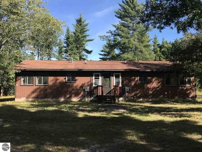 Kalkaska County Single Family Home New: 4353 Pine View Court