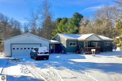 Charlevoix County Single Family Home Active U/C Taking Backups: 2590 Boyne City Road