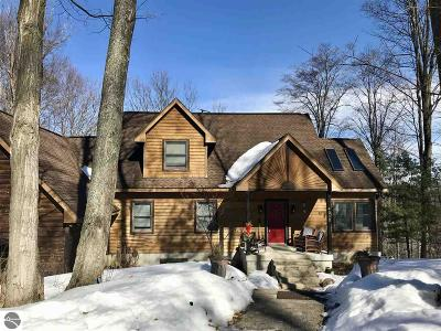 Kewadin Single Family Home For Sale: 4050 Logging Trail Lane