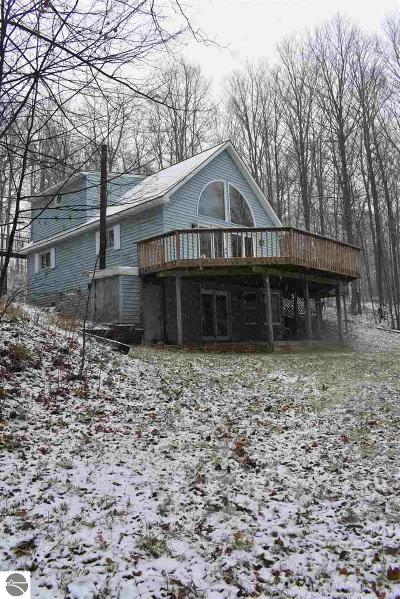 Grand Traverse County Single Family Home New: 6801 Miller Road