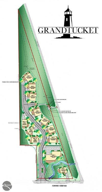 Leelanau County Residential Lots & Land New: Units 3-12 Pedalers Lane