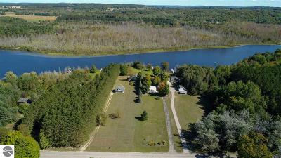 Charlevoix County Single Family Home New: 04390 Six Mile Lake Road