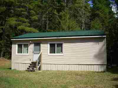 Alger County Single Family Home For Sale: E8310 Co Rd 440