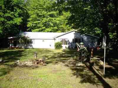 Munising Single Family Home For Sale: N3467 16 Mile Lake