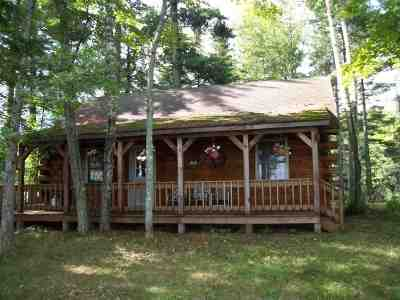 Michigamme Single Family Home For Sale: Sundstrom Island