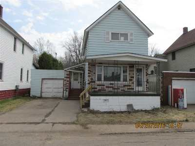 Ishpeming MI Single Family Home For Sale: $41,500