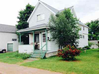 Ishpeming Single Family Home For Sale: 1017 N Third St