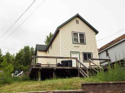 Negaunee Single Family Home Pending w/Contingency: 128 Rock St