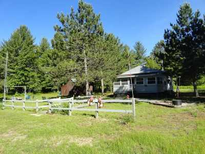Munising Single Family Home For Sale: N3499 Rapid River Truck