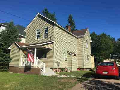 Negaunee Single Family Home For Sale: 122 E Lincoln