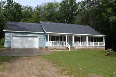 Munising Single Family Home For Sale: N4155 Powell Lake Rd