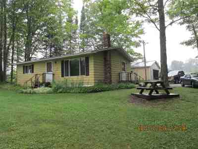 Channing MI Single Family Home For Sale: $215,000